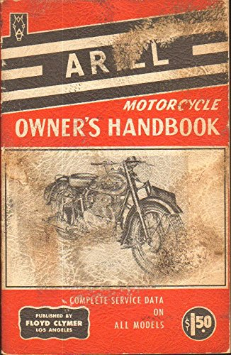 Ariel Motorcycle Owner's Handbook All Models From 1933