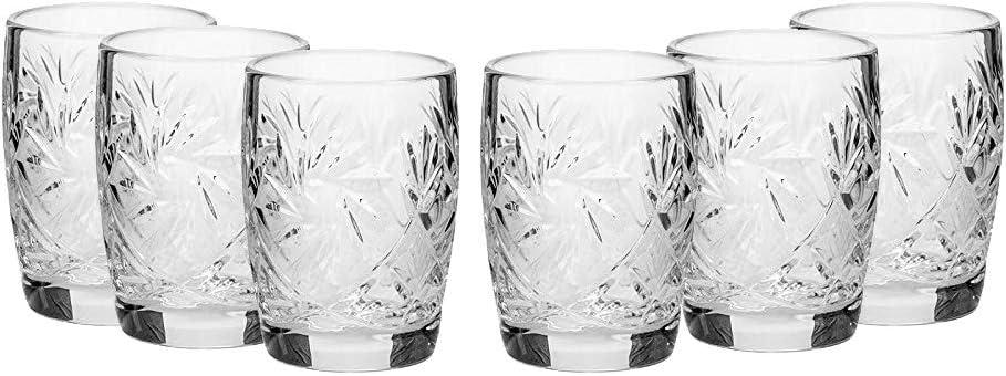 Soviet Porcelain Fish Decanter and 6 Shot Glasses for liqueur or vodka Vintage