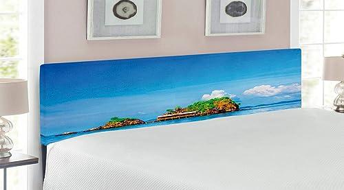 Ambesonne Island Headboard
