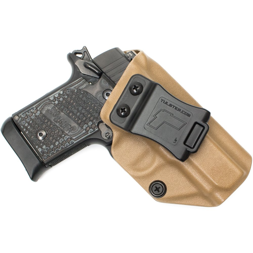 Tulster Sig P938 Holster IWB Profile Holster (Coyote Brown - Right Hand)
