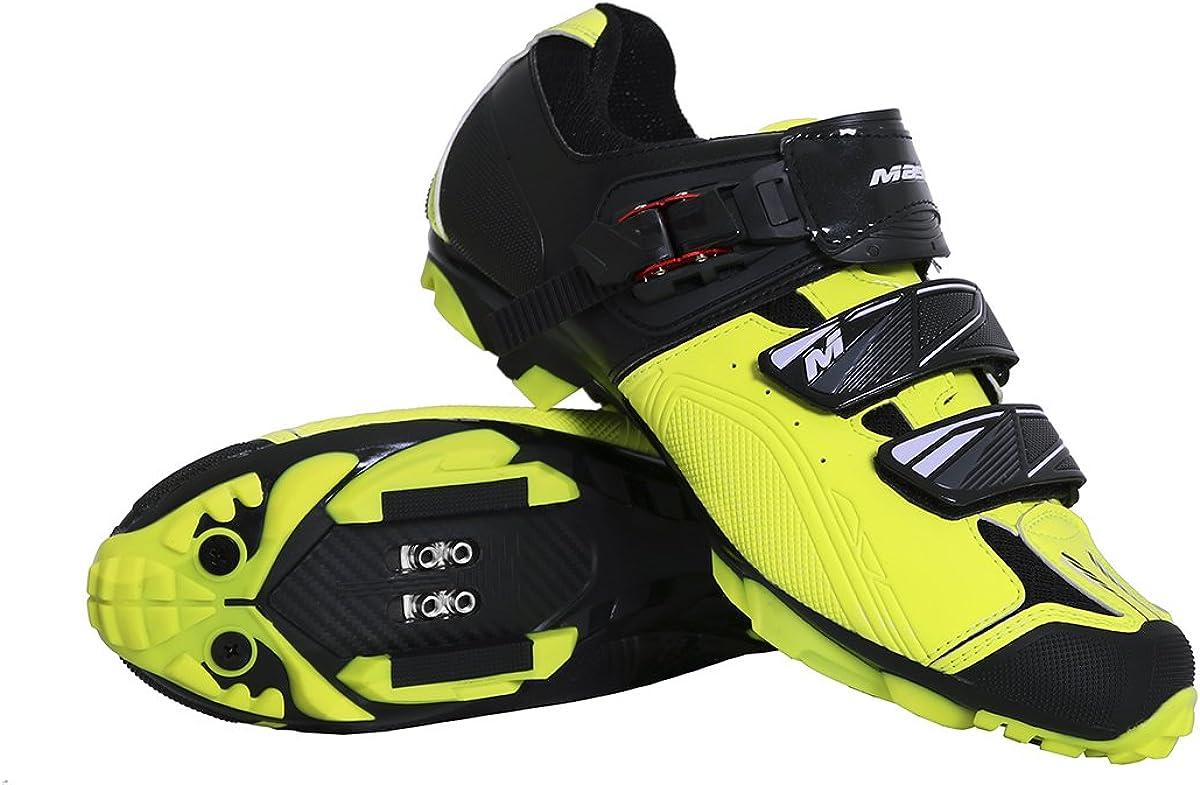 Massi Zapatillas MTB AKKRON Dual 2.0 Neon T.45, Ciclismo de ...