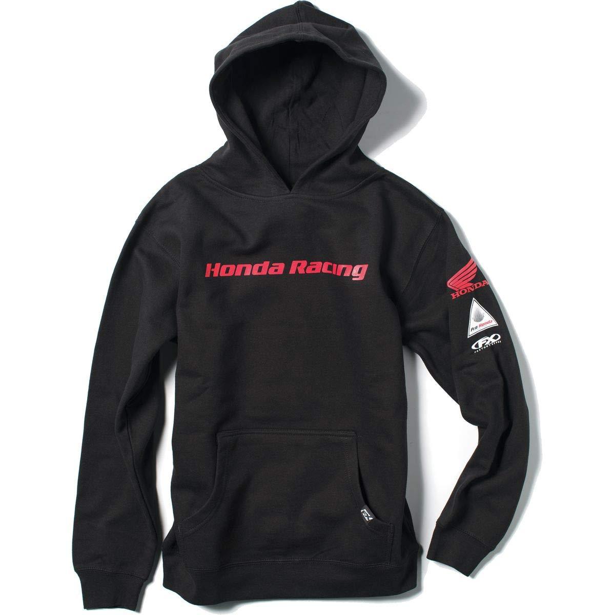 Factory Effex Honda Racing Youth Hoody Black SM
