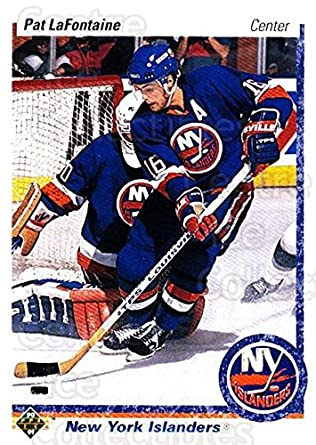 4b2f660bc Amazon.com  (CI) Pat LaFontaine Hockey Card 1990-91 Upper Deck (base ...