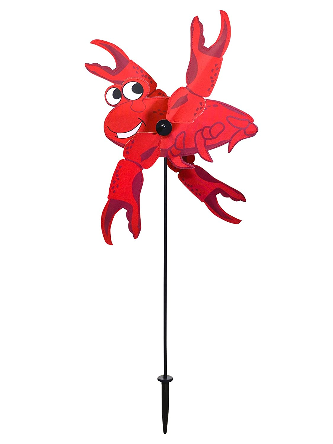 In the Breeze 2553 Baby Whirligig Wind Spinner, Crab