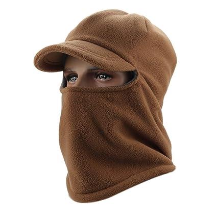 Unisex Sciare Cappello da Caccia Trooper Inverno all aperto Unisex Cap  passamontagna sci maschera faccia 0f566ebcaa56
