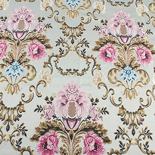 FidgetGear Sofá tapicería Tela por Yard Brocade Tela Damasco ...