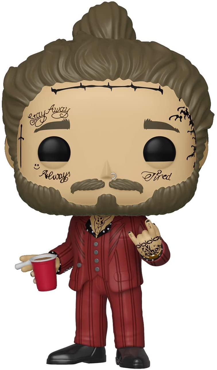 Funko Pop! Rocks: Post Malone - Post Malone, Multicolor