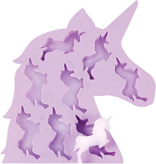 Makes 8 Ice cubes Unicorn Shape  Ice Cube Tray
