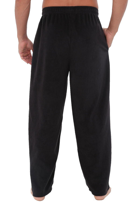 Long Lounge Bottoms Alexander Del Rossa Mens Warm Fleece Pajama Pants