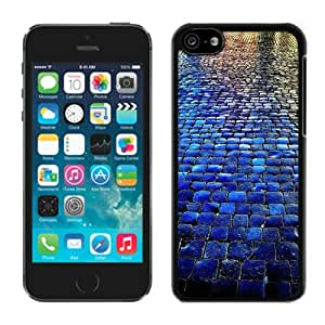 Graceful Blue Tiled Walkway The Stone Road iPhone 5C Case Black Cover