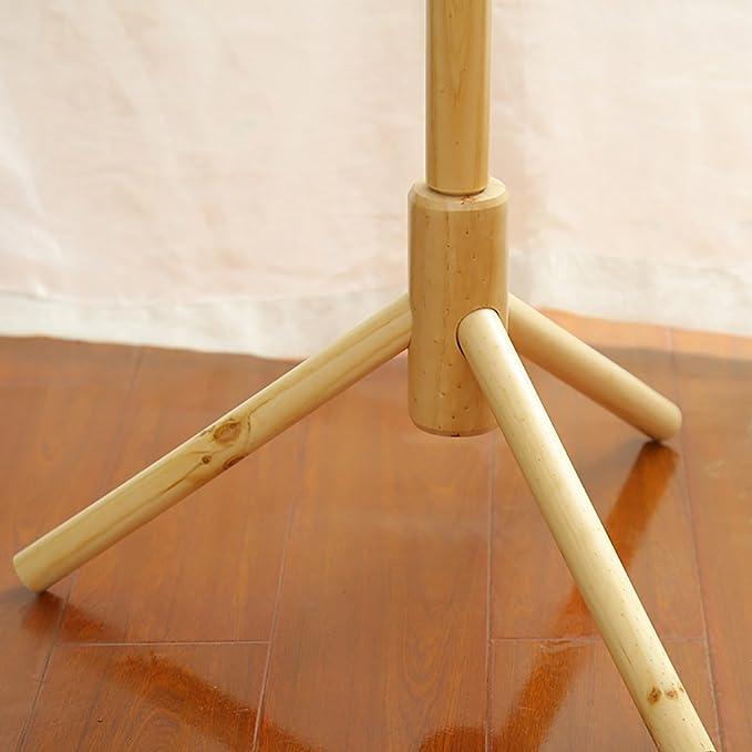 JOYBASE 40 Hooks Wooden Coat RackClothes Hanger Stand For Coats Adorable Wooden Peg Coat Rack
