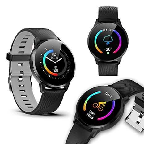 Indigi® M365 Smartwatch Bluetooth 4.0 - Android y iOS compatible ...
