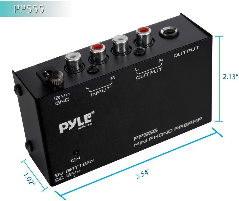 PYLE-PRO PP555 PHONO PRE AMP: Amazon.es: Electrónica