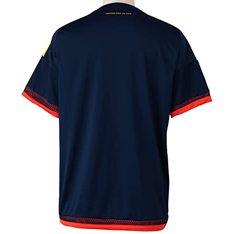 adidas 2015-2016 Colombia Away Football Soccer T-Shirt Jersey