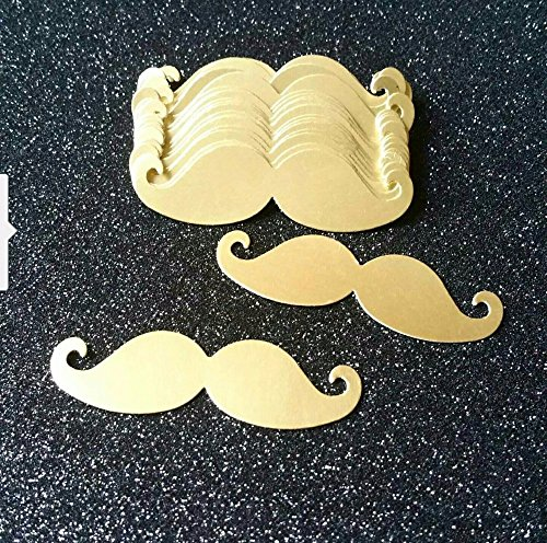 Hot Sale Gold 5cm Mustache Table Confetti Set for Kid's Birthday Little Man Party Decorations Boy Baby Shower Decor 100pcs (My Little Pony Cupcake Wrappers)