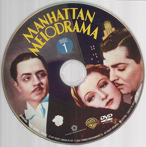 Manhattan Melodrama DVD Clark Gable, William Powell, Myrna - Melodrama Manhattan