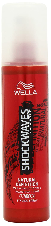 Amazon.com : Wella Shockwaves Natural Definition Gel Natural Look Bottle, 150 ml : Beauty
