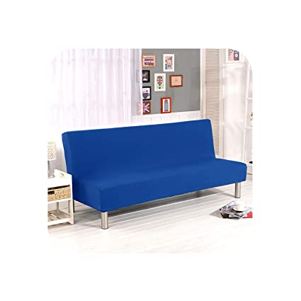 Amazon.com: Giodess Spandex Fabric Armless Sofa Bed Cover ...