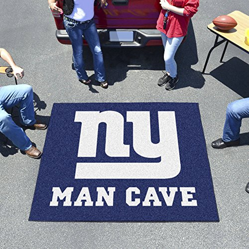 Tailgater Rug Giants (New York Giants NFL Man Cave Tailgater Floor Mat (60in x 72in))