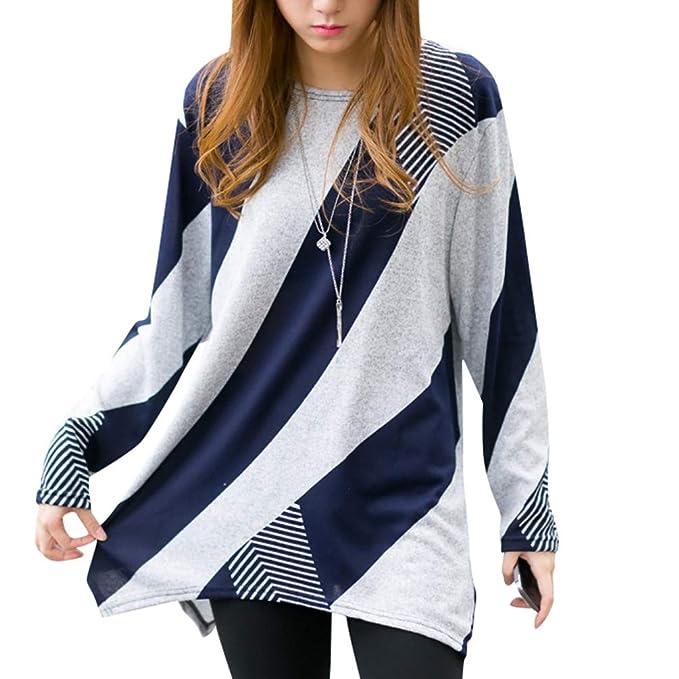Punto Largo Mujer Jersey De Baijiaye Suéter Otoño Pullover wPAOqP61E