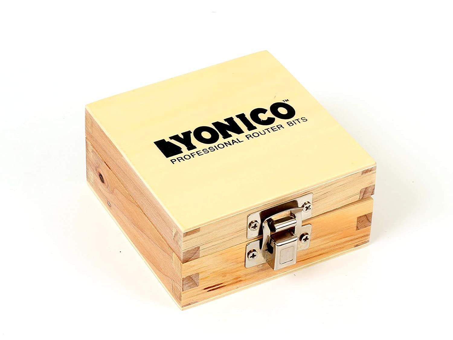 Yonico 15228q Yonico 15228q Tongue and Groove Router Bit Set 1//4 x 1//4 1//4 Shank,