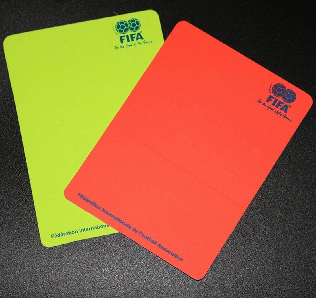 Amazon.com: timeow Fútbol Árbitro tarjeta roja tarjeta ...