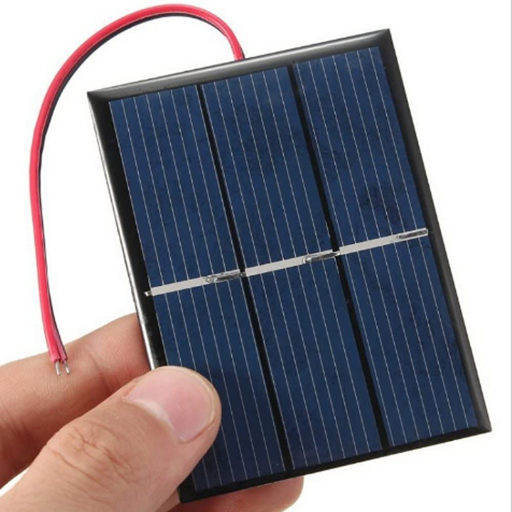 AMX3d Micro Mini Solar Cells 1.5V 400mA Compact 80 x 60mm Solar Panels Power Home DIY Projects, Toys Battery Chargers 1