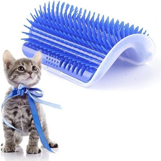 EBILUN Cepillo de masaje para gatos y gatos (pelo largo y corto ...