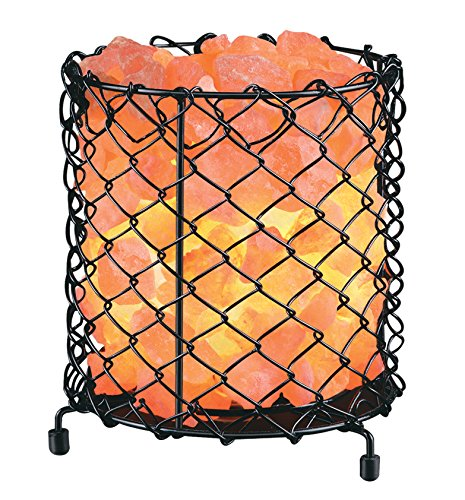 HemingWeigh SBC-S Metal Cylinder Basket Lamp