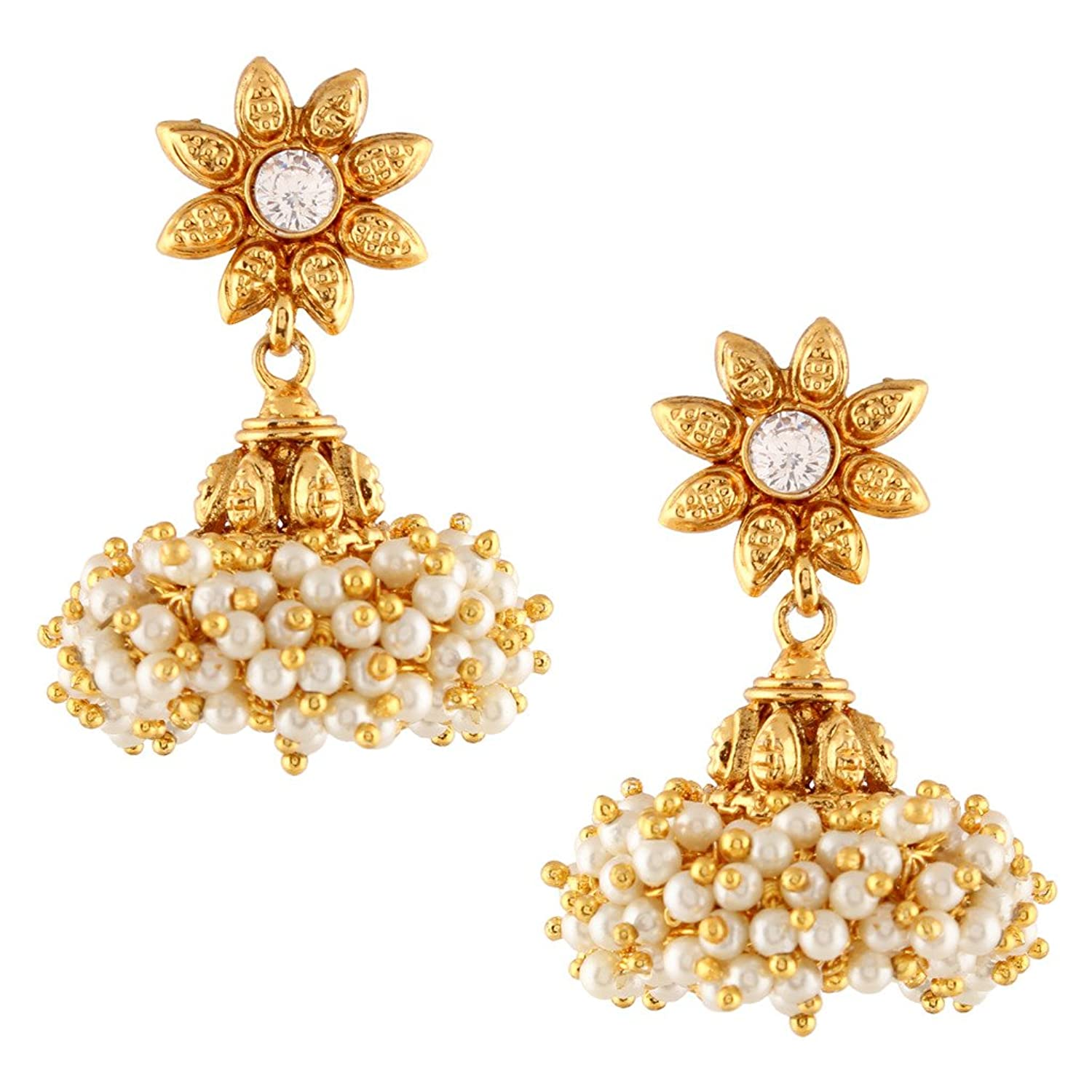 South Indian Style Earrings Image collections - Jewelry Design ...