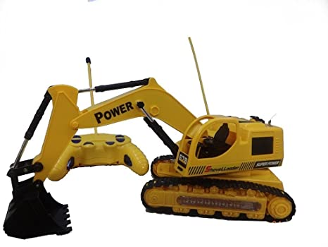 Buy Battery Operated Toy Jcb Construction Truck With Wireless Remote