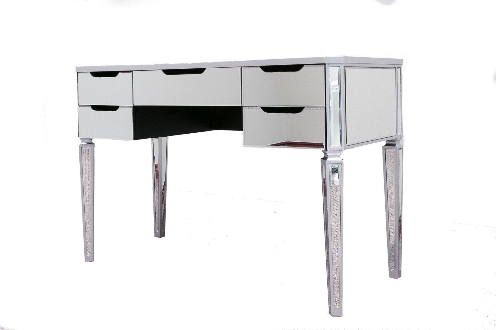 Impact Vanity Mirror Makeup Vanity Table 5 Drawer Desk