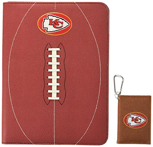 Nfl Portfolio (NFL Kansas City Chiefs Classic Football Portfolio & ID Holder Gift Pack, One Size, Brown)