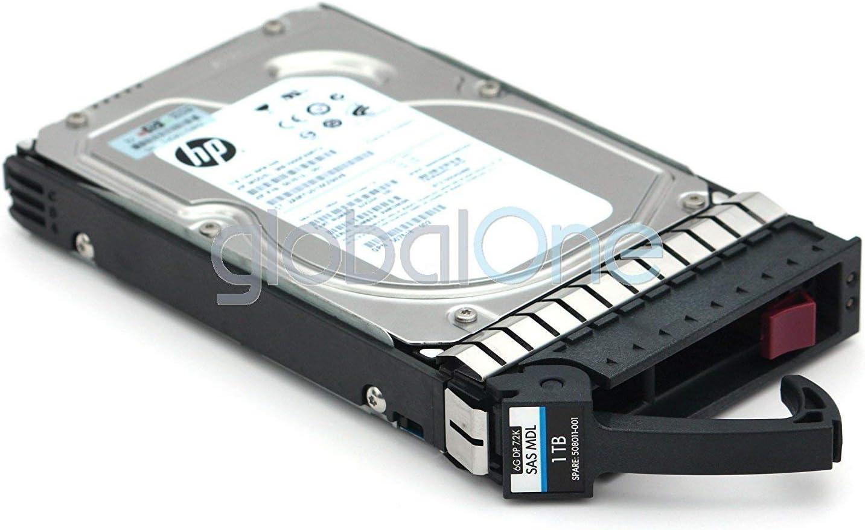 HP MB1000FAMYU 1TB 7.2K 3.5 SAS DP 6G MDL G8 SC HDD With Tray (Renewed)