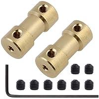 Motor 2/2,3/3 / 3,17/4/5/6 mm N20 Motor Shaft Coupling Coupler Connector mouwen Adapter Brass Transmission Joint…