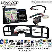 Volunteer Audio Kenwood Excelon DNX994S Double Din Radio Install Kit with GPS Navigation Apple CarPlay Android Auto Fits 1999-2002 Silverado, 1999-2002 Tahoe, 1999-2002 Yukon