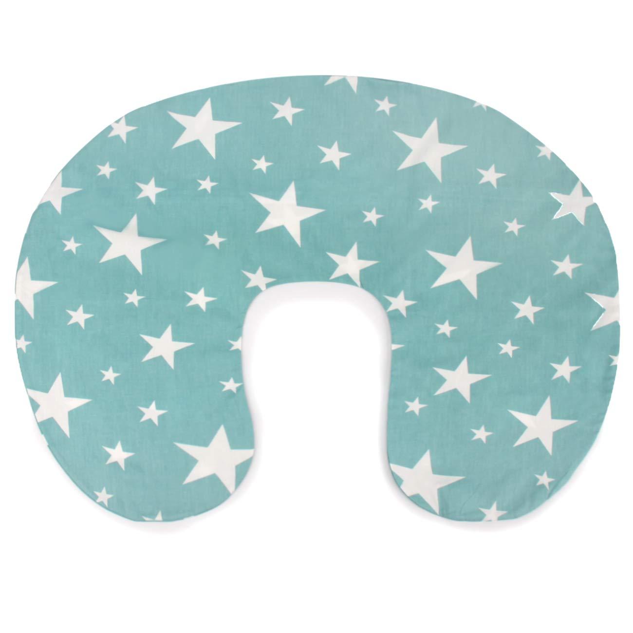 PEKITAS Breastfeeding Nursing Pillow Slipcover 20x16x5.5 Inches 100/% Cotton Breathable Anti-Suffocation Tucked Zipper Machine Washable Cartoon Beige