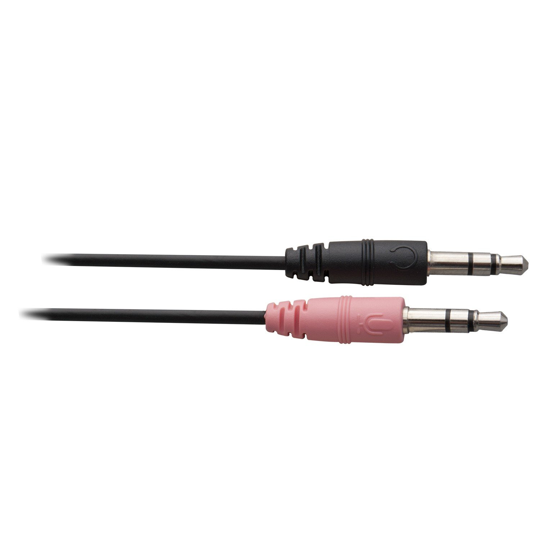 schwarz V7 HA201-2EP Leichtes Stereo Headset mit Mikrofon Noise Cancelling