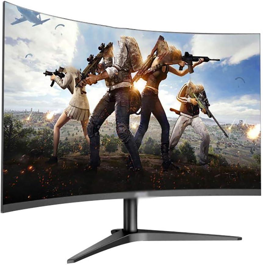 YXSP Monitores Pantalla LED De Protección Ocular, Pantalla LCD Curvada De 23.6 Pulgadas para Oficina (Full HD 1920 * 1080, Interfaz HDMI D-Sub Audio): Amazon.es: Hogar