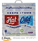 Hot Cold Bag | Insulated Bag | Thermal Bag (5 Grocery Bags)