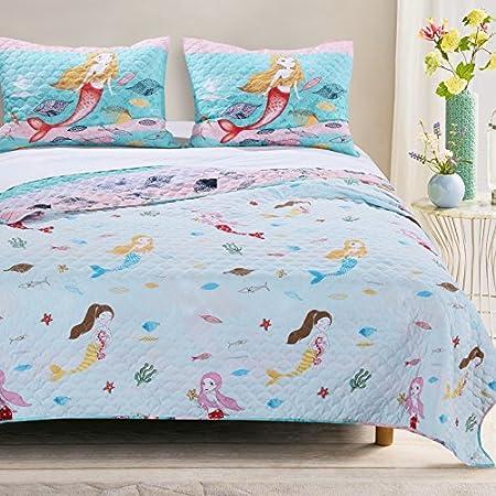 61Q8NIZETIL._SS450_ Mermaid Bedding Sets and Mermaid Comforter Sets