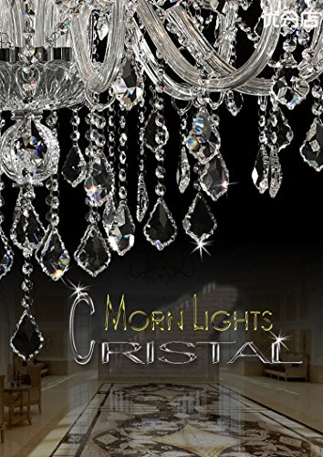 Generic Luxury Pendant Lamp Crystals Chandelier 18 Lights Arms Lamp Color Clear by non-brand (Image #2)