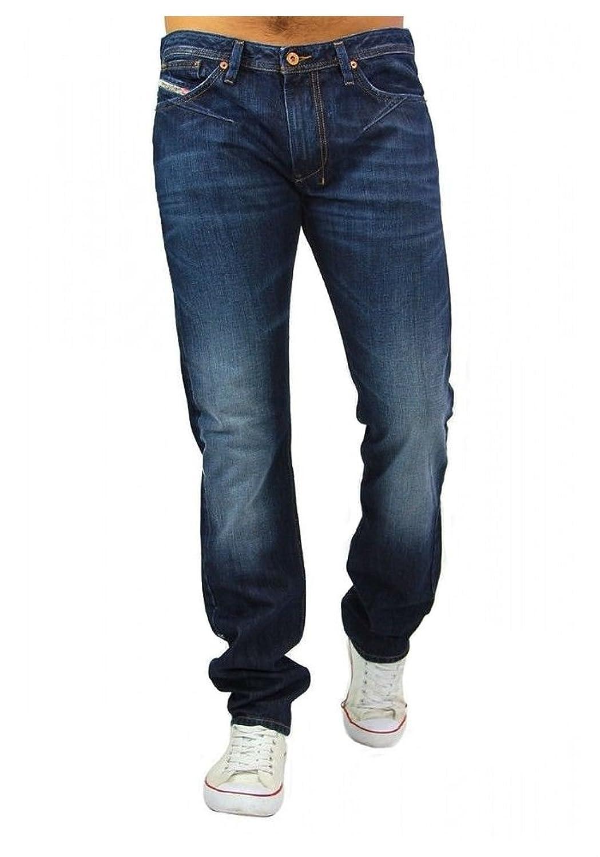 Diesel Mens Waykee Denim Blue Jeans Size 40?to 44?W30-w33?0R0S3?Jeans Trousers
