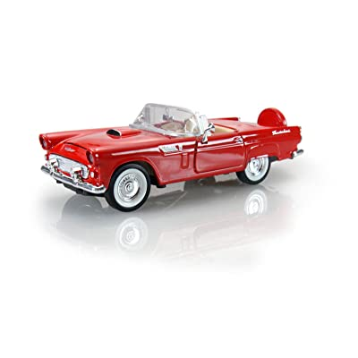 1956 Ford Thunderbird , Red - Motormax - 1/24 scale Diecast Model Toy Car: Toys & Games