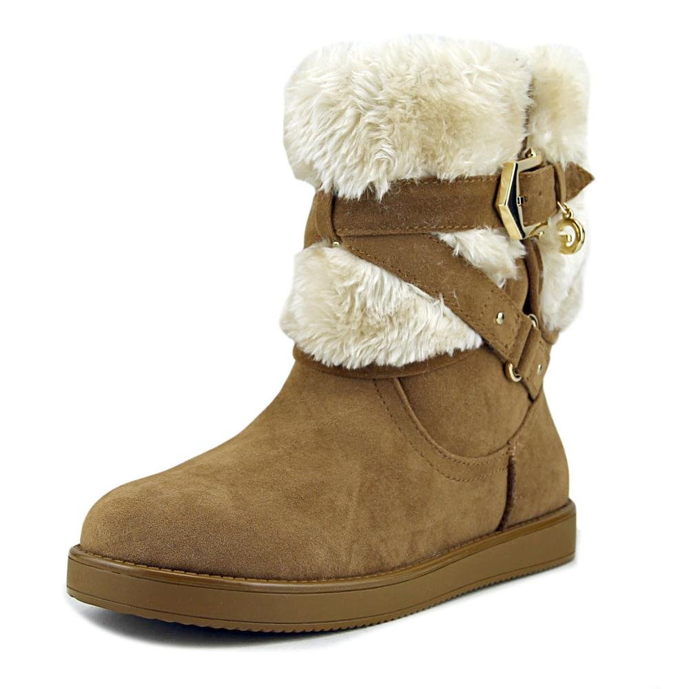 G by GUESS Womens alixa Closed Toe Ankle Cold Weather Boots B074JDB2JP 8.5 B(M) US|Medium Natural Fabric