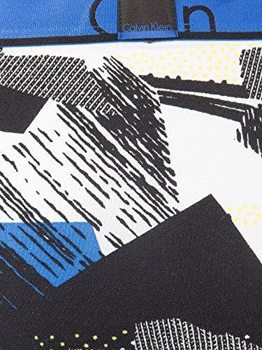 uomo da blu Klein Calvin Print Trunks College HxaFfp