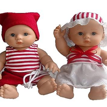 Amazon.es: Moda suave nutrir muñeco Reborn Niña y Niño realismo de 8 ...