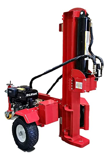 50 Ton Log Wood Splitter Hydraulic 15HP Gas Engine – Cutting Wedge – Electric Start – Ball Hitch – 1 Year Parts Warranty