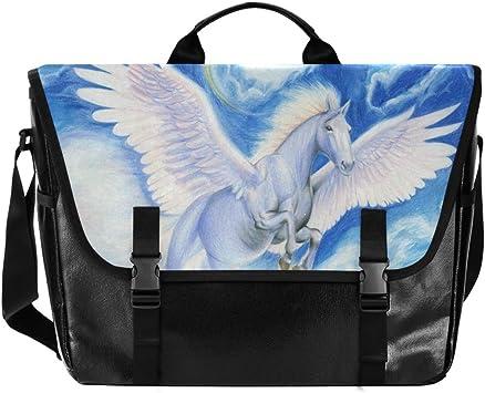 Women Messenger Bag Horse Shoulder Cross Body Tote Handbag Sling Satchel Purse