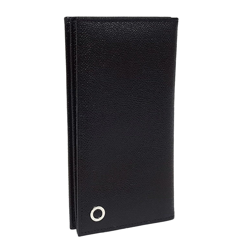 (ブルガリ)BVLGARI メンズ長財布 2つ折り MAN WALLET FOR YEN&7CC マンウォレットフォーエン(ブラック×ロイヤルブルー) 30398/BLACK*ROYAL [並行輸入品] B01J7KGBBA